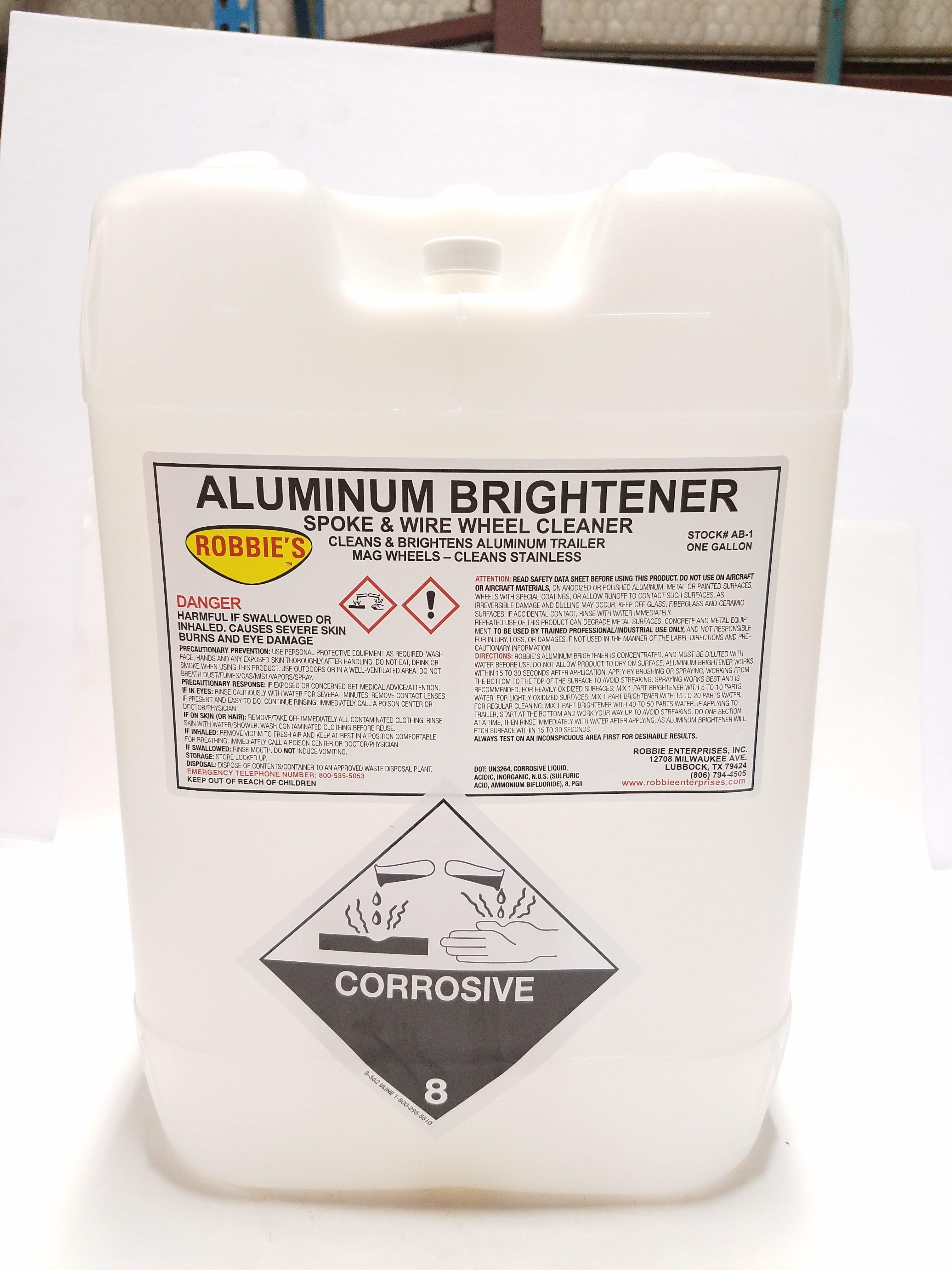Robbie Enterprises, Inc. | Aluminum Brightner AB-5